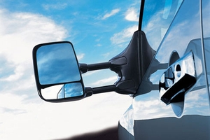 Telescoping Tow Mirrors (Lh & Rh) Kit For Vehicles With Power & Heated Mirrors. Telescoping Tow... image for your Nissan